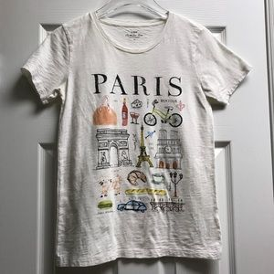 J. Crew | Collector (Graphic) Tee - Paris